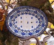 handgefertigte Bunzlauer Keramikschale